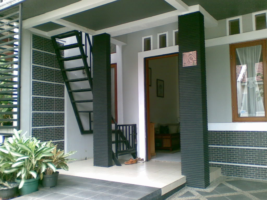 gambar model teras rumah minimalis desain modern 2016