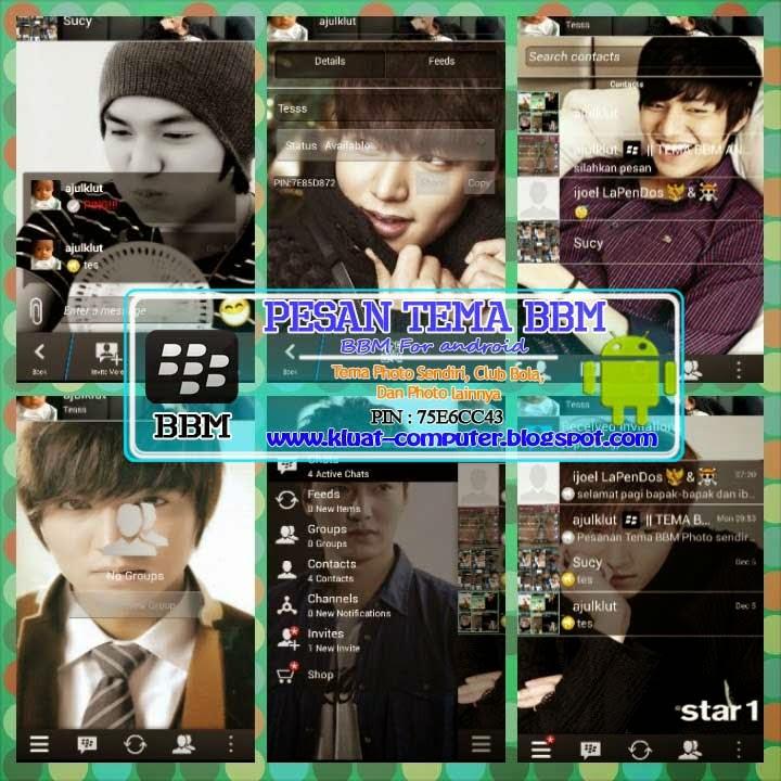 Multi BBM Lee Min Hoo