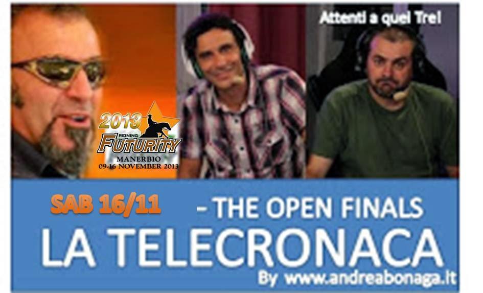 LA FINALE OPEN IN DIRETTA WEB CON TELECRONACA !!!