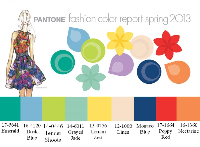 color 101, pantone spring 2013 colors, pantone color of the year,