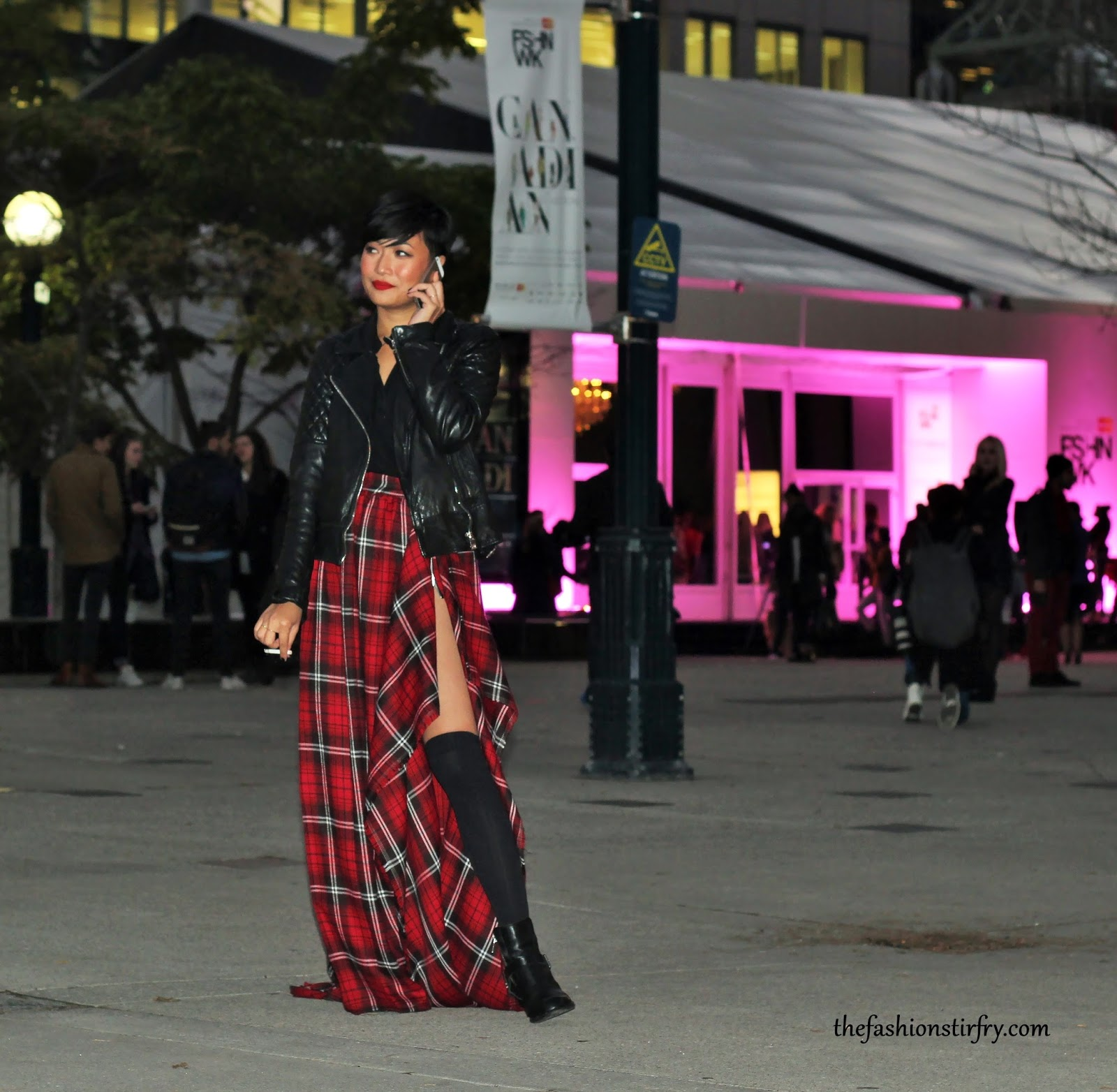 STREET STYLE TORONTO: THIRD NIGHT OF FASHION WEEK FROM OUTSIDE DAVID PECAUT SQUARE