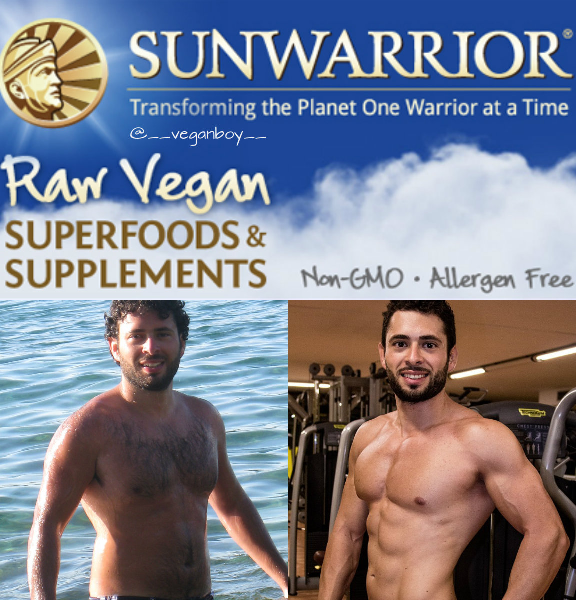 Sunwarrior Raw Vegan Protein