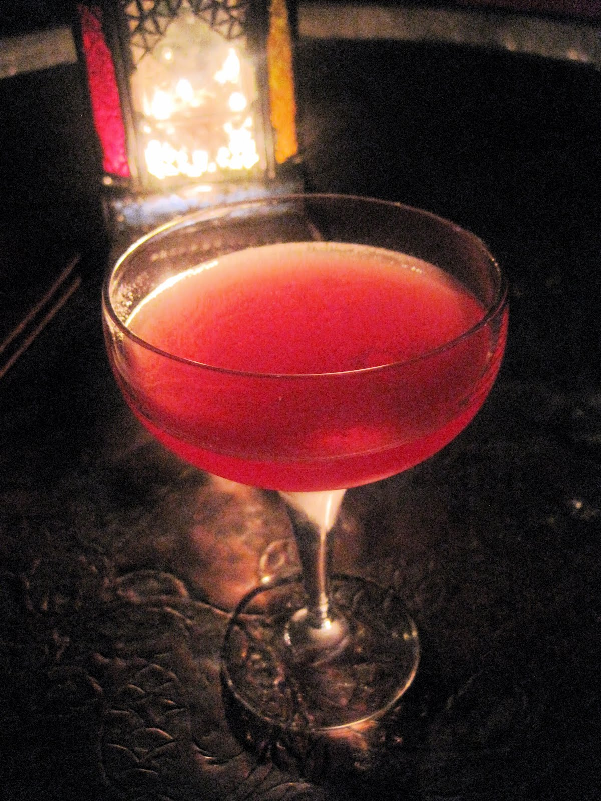Cosmopolitan cocktail wallpaper  Wine and the City: Zahra Bar