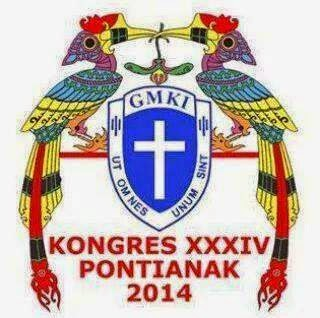 LOGO KEGIATAN KONGRES XXXIV GMKI TAHUN 2014 DI PONTIANAK