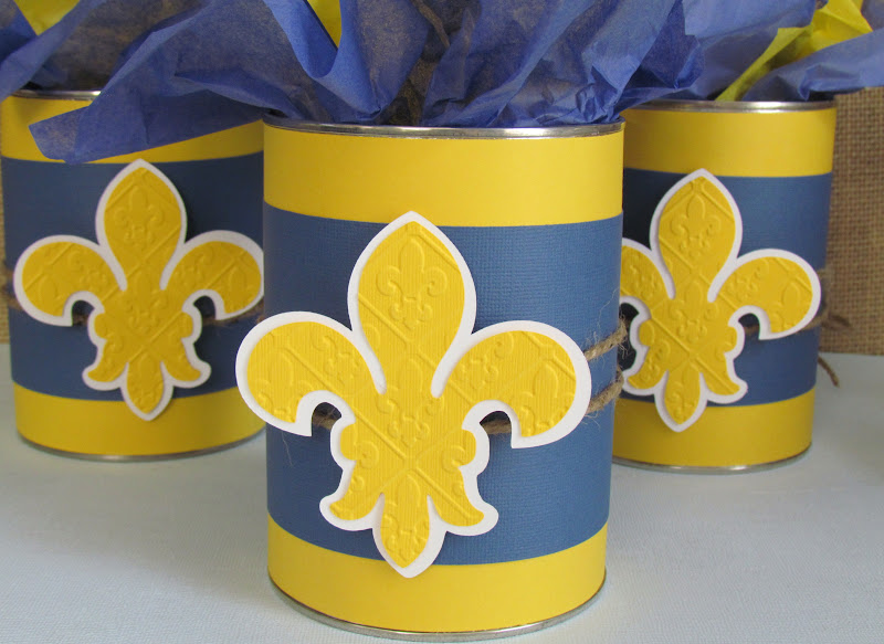 Cub Scout Blue and Gold Centerpieces
