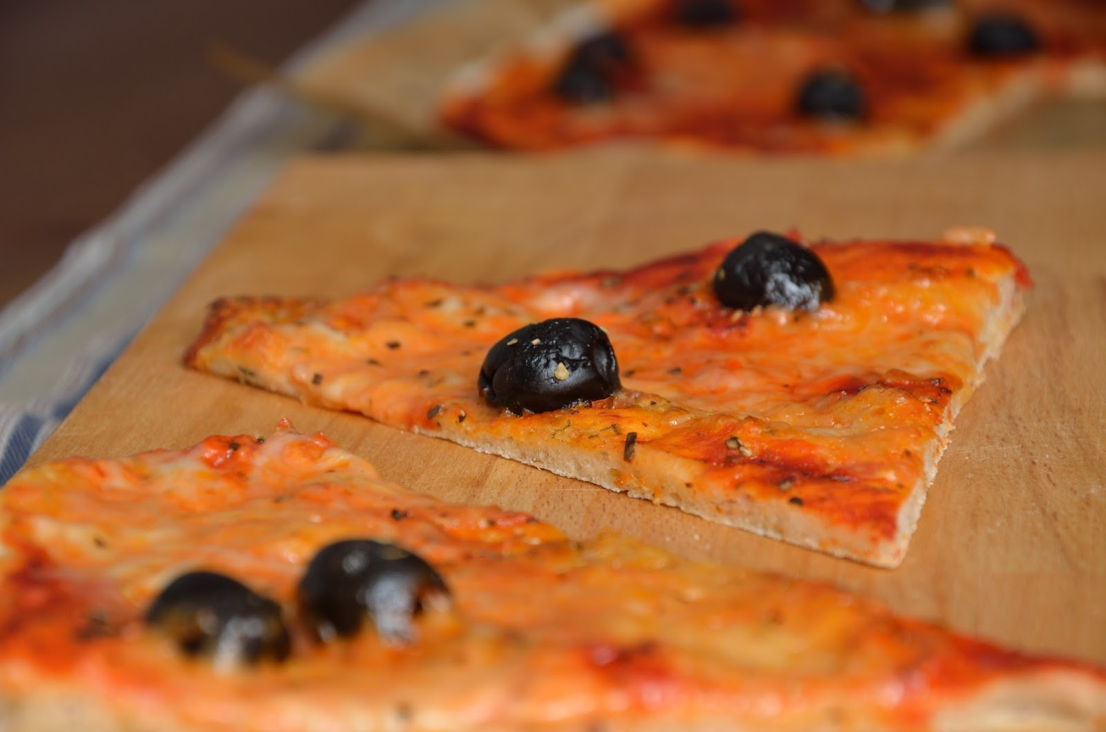 Pizza na cienkim spodzie, dla zabieganych