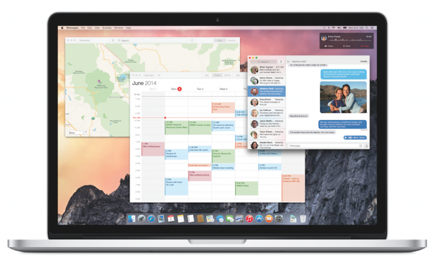 Apple Launches New Operating System Yosemite iOS 8