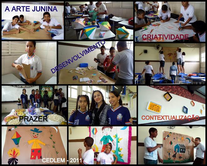 CEDLEM - ATIVIDADES DE ARTE 2011