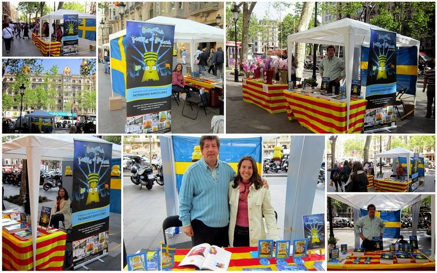 Sant Jordi 2015 día del libro y la rosa en Catalunya