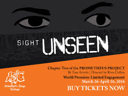 Congras Lori M! You WON 4 tixs ($68 value): Sight Unseen at Adventure Stage Chicago (Ages 8+)