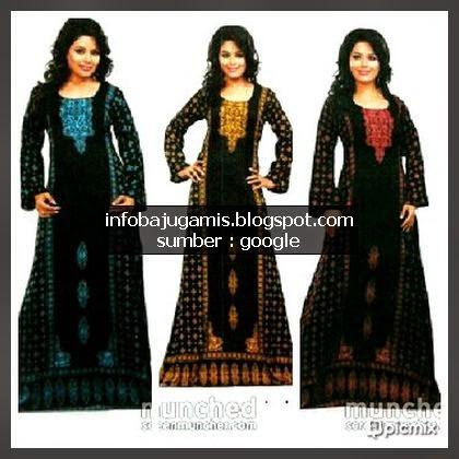 Baju gamis khas dari india info model baju gamis terbaru Baju gamis india terbaru