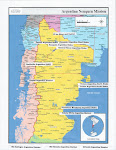 Argentina Neuquen Mission Map