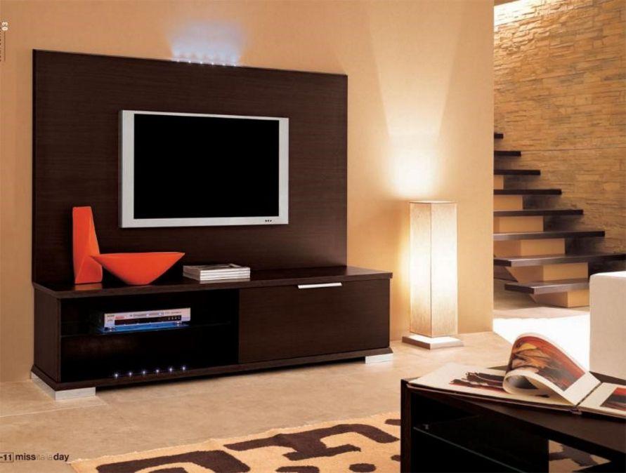 ilustrasi desain almari tv minimalis terlihat bagus