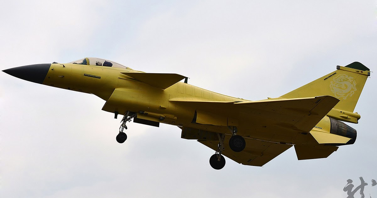 Chinese Preproduction J-10B Fighter Starts Flight Testing ...