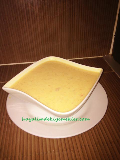 Sütlü Bal Kabağı Çorbası,Sütlü Bal Kabağı Çorbası nasil yapilir resimli tarif