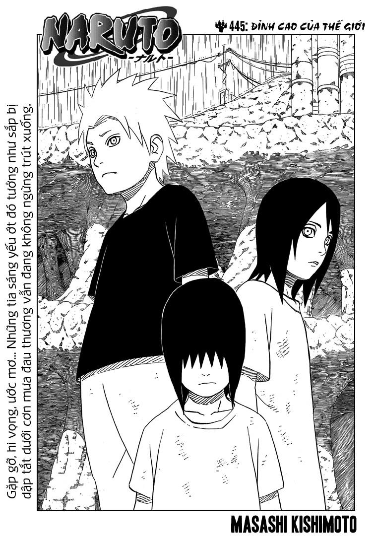 Naruto chap 445 Trang 2 - Mangak.info