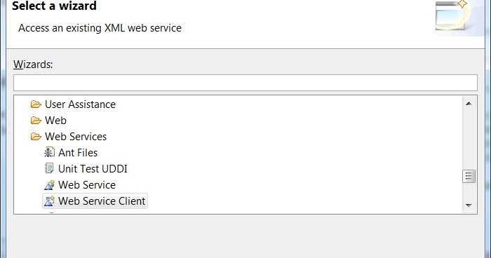 how to call webservice in java with eclipse