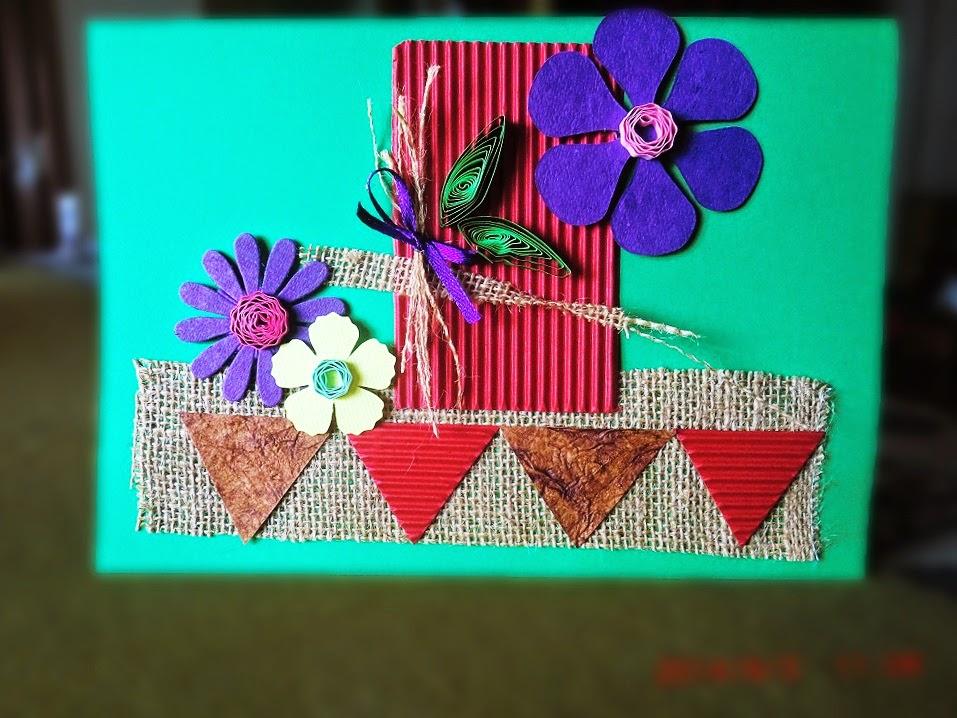 Greeting-card hand-made