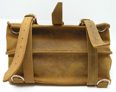 leather luggage bags for men