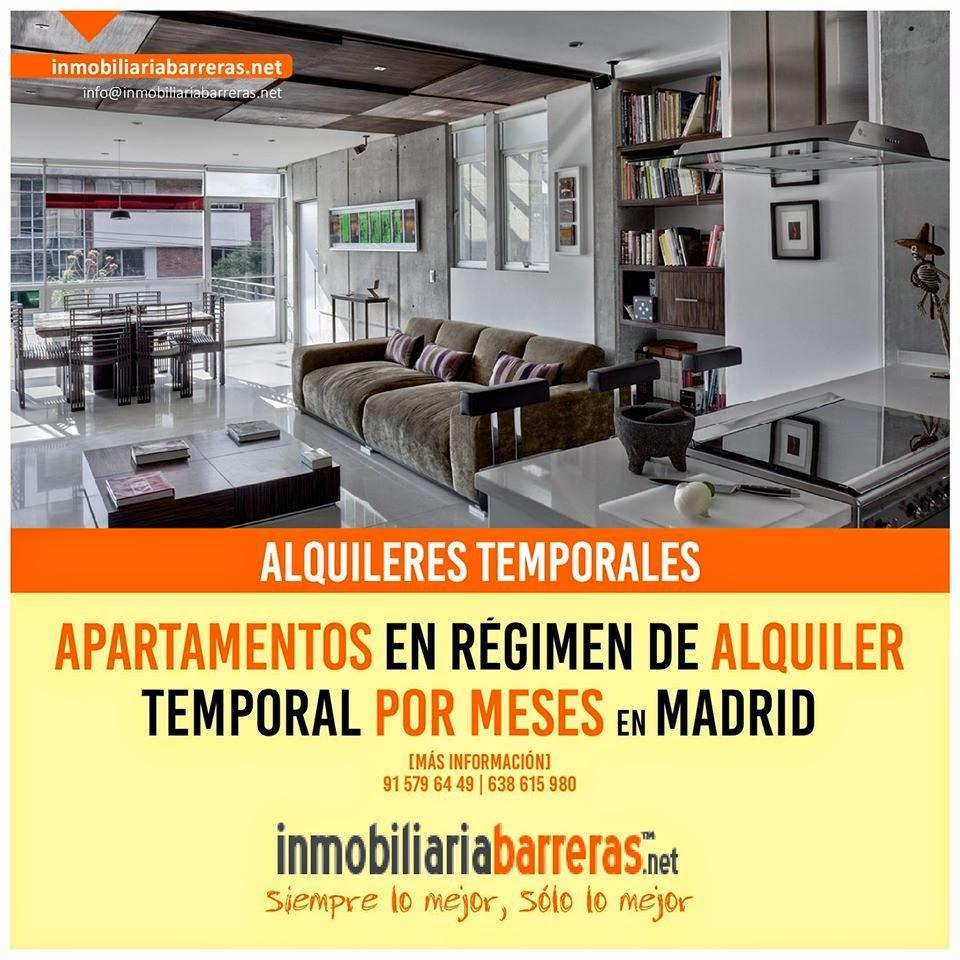 Apartamentos temporales en alquiler por meses en Madrid en nosolopisos.es