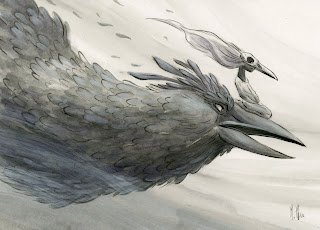 Dynamic Raven by Martin Hsu. Available at http://martinhsustore.blogspot.nl/