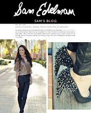 BLOGGER INVITADA EN EL BLOG DE SAM EDELMAN