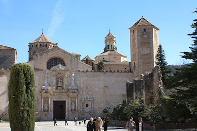 Monastery of Poblet in Catalonia
