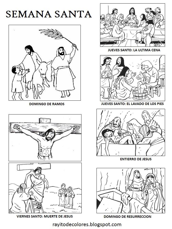 Dibujo Semana Santa