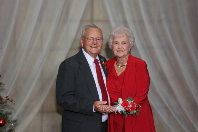 KY renewed their vows in a 60th wedding anniversary ceremony along with