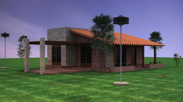 Lost studio casas de campo for Casa de campo arquitectura