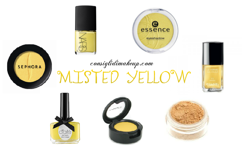 trucco misted yellow pantone