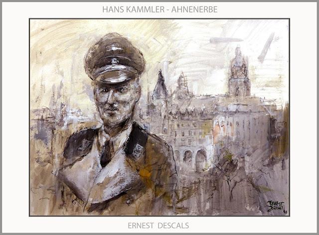 KAMMLER-AHNENERBE-ART-ARTE-PINTURA-CASTILLOS-ALEMANIA-ARMAS SECRETAS-SS-PROYECTOS-SEGUNDA GUERRA MUNDIAL-ARTISTA-PINTOR-ERNEST DESCALS-