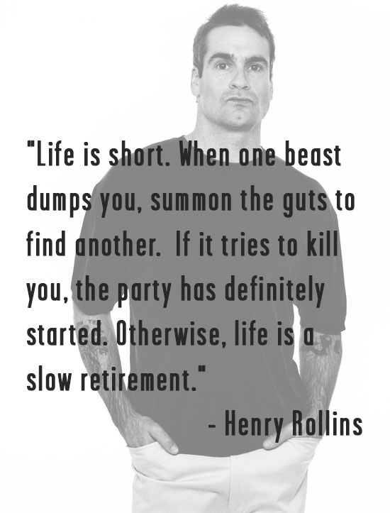 Life is short. Ain't that the truth!