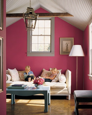 Good Glam Living With Pink In Your Room