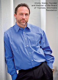 Jimmy Wales, Founder and Member of the Board of Trustees, Wikimedia Foundation