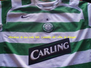 camiseta del Celtic de Glasgow