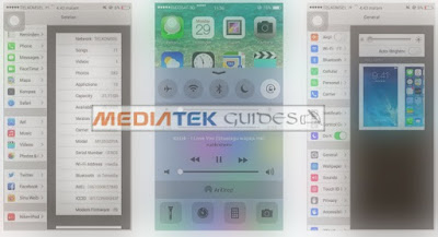 IOS 8 Custom ROM For ALL Mediatek MT6572