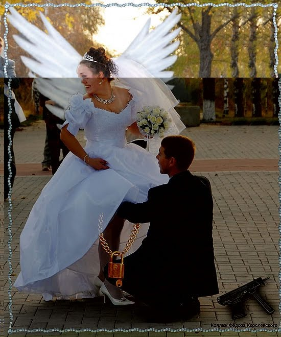 Russian Wedding Photos: Funny Photoshopped Russian Wedding Pictures