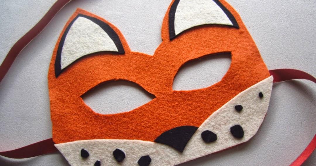 Stylenovice Diy Fox Mask Template