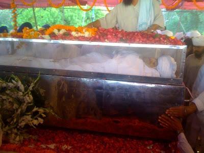 Baba Harbans Singh ji Kar Sewa Wale Antim Darshan