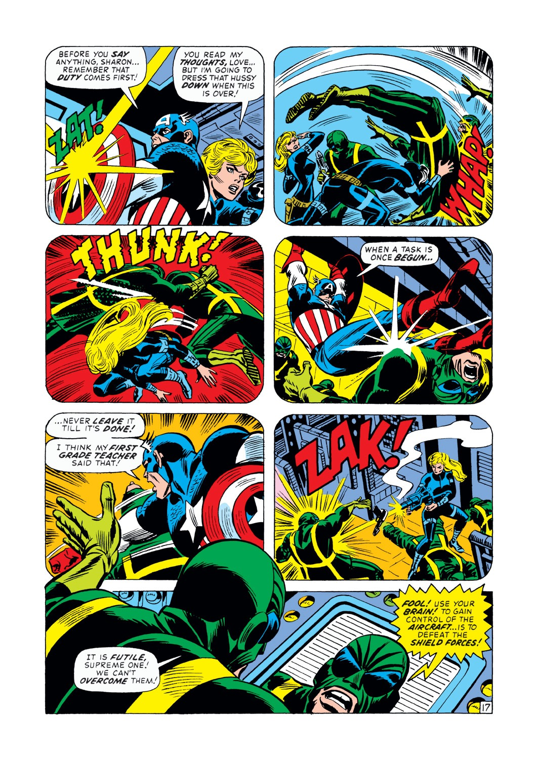 Captain America (1968) Issue #145 #59 - English 18