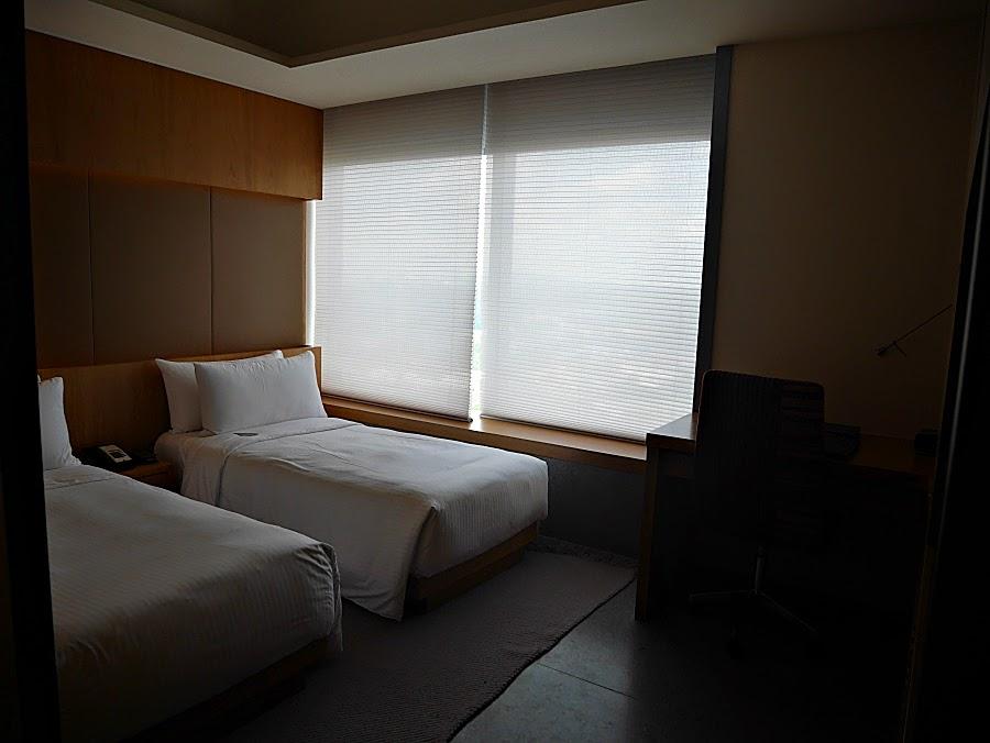 Simple cozy hotel room