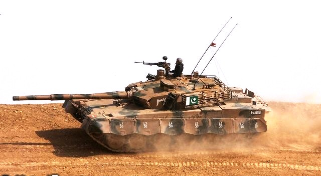 The Al-Khalid Tank Of Pakistan Army