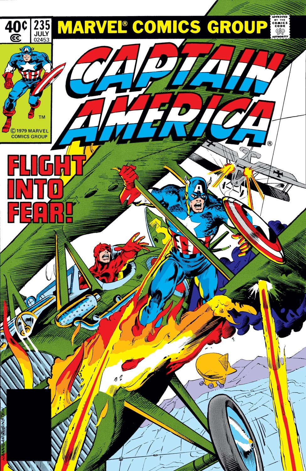 Captain America (1968) Issue #235 #150 - English 1