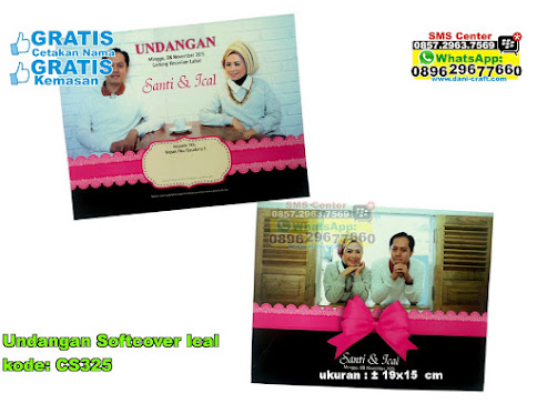 Undangan Softcover Ical