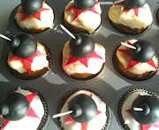 . by creating lightup bomb cupcakes for the fifth of November this year: (bomb )