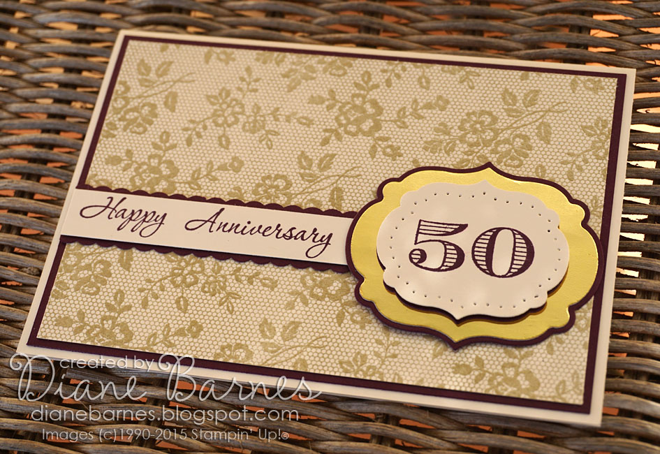 Colour me happy: 50 happy years 2 golden anniversary cards