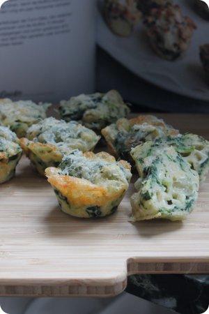 Spinat-Käse-Muffins