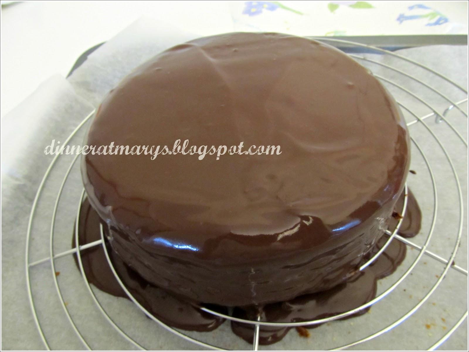 Torta all 39 arancia glassata al cioccolato - Bagno per torte senza liquore ...
