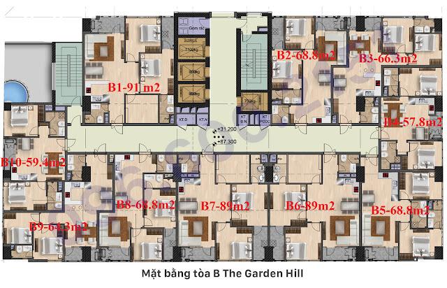 Tòa B Garden Hill - 99 Trần Bình